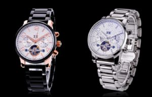 Custom High Quality Fashion Gentleman′s Stainless Steel Watch pictures & photos