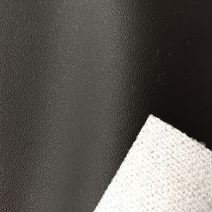Needle Grain Microfiber Leather for Car Seats Upholstery Hx-C1703 pictures & photos