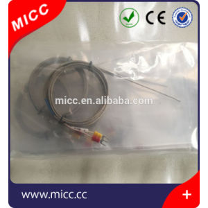 Micc Stainless Steel Tip Bayonet Type K Spring Fixing Thermocouples pictures & photos