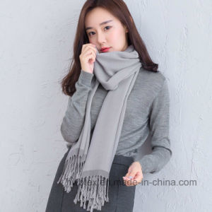 New Japan Winter Colletion Cotton / Linen Shawl / Scarf (HWBLC010) pictures & photos