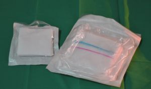 Sterile Disposable Cotton Gauze Pad pictures & photos