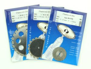 CB45D30 45mm Denta Diamond Disc Metal Cutting Discs pictures & photos