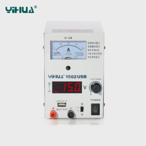 Yihua 1502USB 12V DC Power Supply pictures & photos