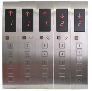 Elevator Cop and Lop for Lift, Glass Touch Cop Lop with DC24V Display Board pictures & photos