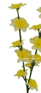 Artificial/Plastic/Silk Flower Single Stem of Daffodil (XF30040) pictures & photos