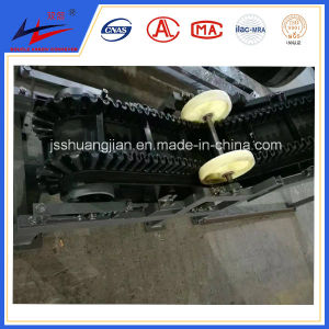 Garbage Disposal Station Belt Conveyor with Sealed Cover and with Viewing Window pictures & photos
