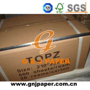 210mm*297mm Size White Bible Paper in Carton Packing pictures & photos