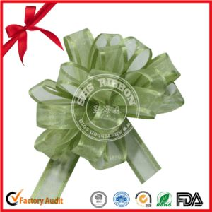 Organza Ribbon Pull Bows Wedding Car Decoration Gift Wrap pictures & photos
