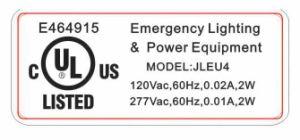 Jleu4 Emergency Lighting, LED Lamp, UL Emergency Light, LED Light pictures & photos