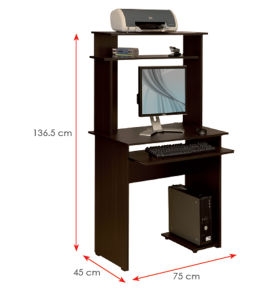 Modern School Library Lab Office Furniture Wooden Computer Desk (HX-DR001) pictures & photos