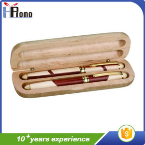 Best Selling Wooden Pen Box with Pens pictures & photos