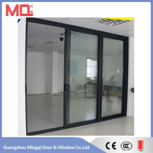 Three Panels Aluminum Sliding Glass Door pictures & photos
