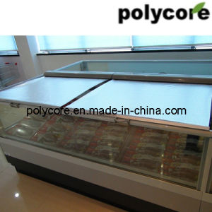 Open Horizontal Refrigeration Meat Display Showcase pictures & photos