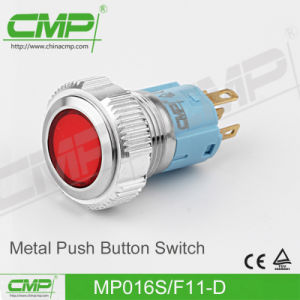 16mm Metal High Head Push Button Switch pictures & photos