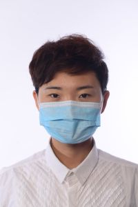 Non Woven Disposable Face Masks Surgical Facial Mask pictures & photos