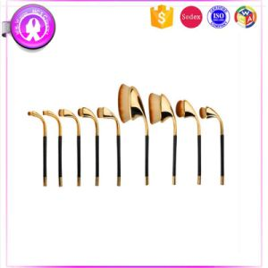 9PCS Cosmetic Brush Sets, Golf-Shaped, OEM Accept pictures & photos