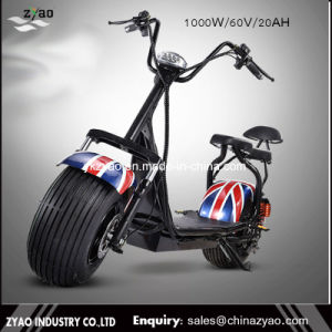 Two Fat Wheel Self Balancing Mobility Electric Harley Style Scooters pictures & photos