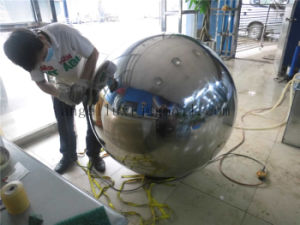 304 Mirror Bright Finish Stainless Steel Gold Color Ball for Decoration pictures & photos