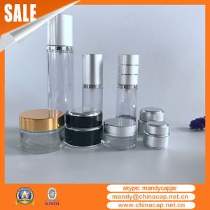30g Customized Cosmetic Aluminum Glass Jar with Lid pictures & photos