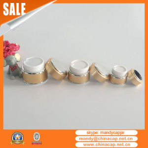 30g Aluminum Glass Cosmetic Jars for Cosmetic Packaging pictures & photos