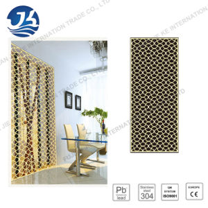 304 Office/Liiving Room Decoration Stainless Steel Folding Screen pictures & photos