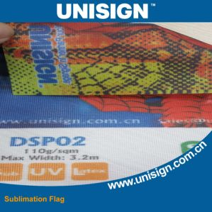 Dye Sublimation Printing Flag / Transfer Printing Mirror Flag pictures & photos