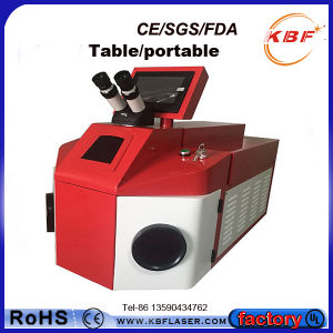 100W Table Portable Jewelry Laser Welding Machine for Glasses pictures & photos