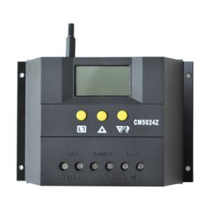 50A 12V/24V Solar Charge Controller/Regulator with Temp Sensor Cm5024 pictures & photos