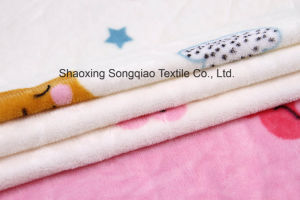 Printed Polyester Flannel/Coral Fleece Fabric - 16505-8 1# pictures & photos