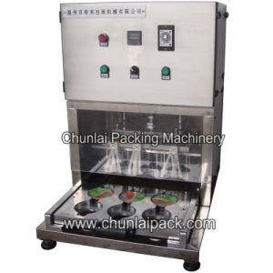 Semi Auto Cup Sealing Machine pictures & photos