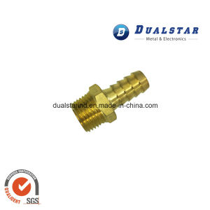 Hose Tail Adapter Brass Gauge Hosetail for Pressure Gauges pictures & photos
