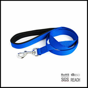 Blank Flat Nylon Pet Dog Leash with EVA Handle pictures & photos