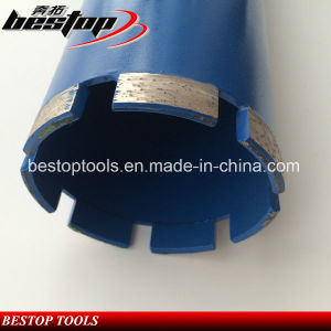 "4/11""-7 Laser Dry Core Drill Bits for Reinfored Concrete pictures & photos"