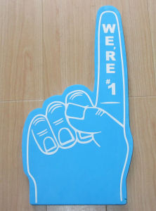 Thumb Finger Big Foam Hand with Customer′s Logo pictures & photos
