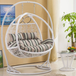 Double Swing, Rattan Furniture, Rattan Basket (D156A) pictures & photos