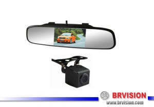 Emark Car Reversing Backup System with Mirror Monitor pictures & photos
