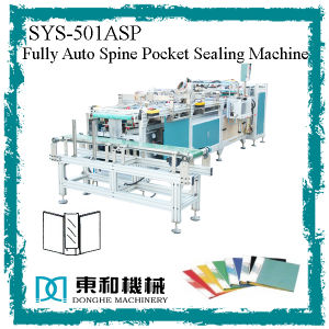 Clear Spine Label Pocket Automatic Sealing/ Welding Machine for Flat File/ Display Book/ Clear Book pictures & photos