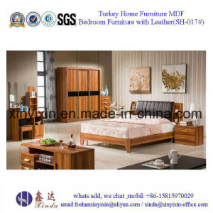 King Size Leather Bed Luxury Hotel Bedroom Furniture (SH-015#) pictures & photos