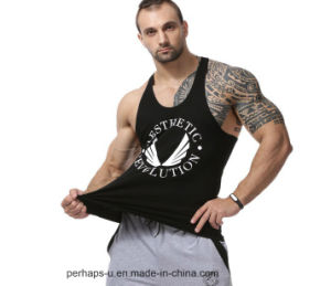Cool Mens Cotton Tank Tops with Custom Logo pictures & photos