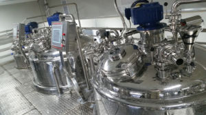 Fuluke Mixing Tank Mixing Machine Steam Heating Mixer Mixer Price pictures & photos