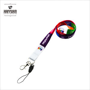 Promotional Dye Sublimation Printing Lanyard in Smooth Polyester pictures & photos