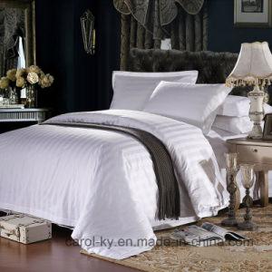 100% Cotton 500tc 3cm Stripe Hotel Textile Hotel Bed Linen pictures & photos