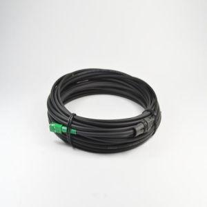 Sc/APC-Sc/APC Simplex Fiber Optic Patch Cord pictures & photos