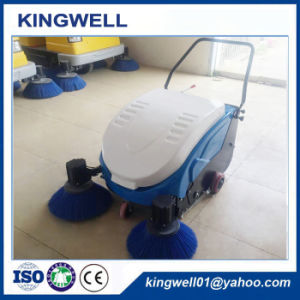 Walk Behind Hand Push Road Sweeper (KW-1000) pictures & photos