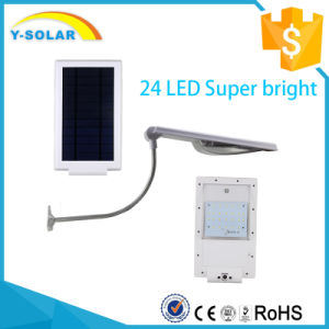 3.7W High Power 24PCS LED Solar Powered LED Lights with Ce RoHS Approved SL1-1-24 pictures & photos
