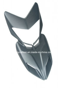 Motorcycle Carbon Part Front Fairing for Ducati Hypermotard pictures & photos