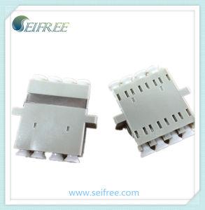 Quad Optical Fiber mm LC Adaptor pictures & photos