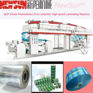 Qdf Series OPP Film High-Speed Lamination Machinery pictures & photos
