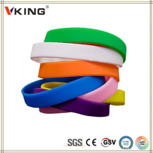 China Products Cheap Personalized Silicone Bracelets pictures & photos