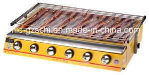 BBQ Gas Grill Gas&Natural Roasting Barbecue Machine 0086-13926161435 pictures & photos